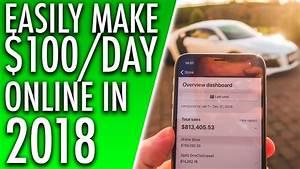 3 EASY WAYS TO MAKE MONEY ONLINE IN 2018! MAKE $100 PER ...