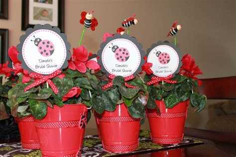 Ladybug Themed Bridal Shower Pinterest Inspired Me