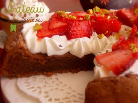 de cuisine indienne gateau aux fraises chantilly et chocolat le