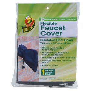 duck flexible faucet cover 280462 the home depot