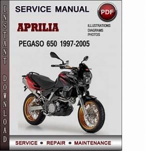 Aprilia Pegaso 650 1997-2005 Factory Service Repair Manual Pdf