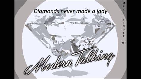 Diamonds Never Made A Lady (original 12