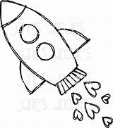 Rocket Drawing Ship Coloring Tattoo Doodle Clipart Cartoon Space Rocketship Quoteko Clip Tattoos Raketen Stars Frames Simple Infinity Drawings Reach sketch template