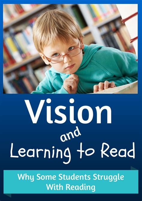 Vision And Reading Difficulties  Make Take & Teach