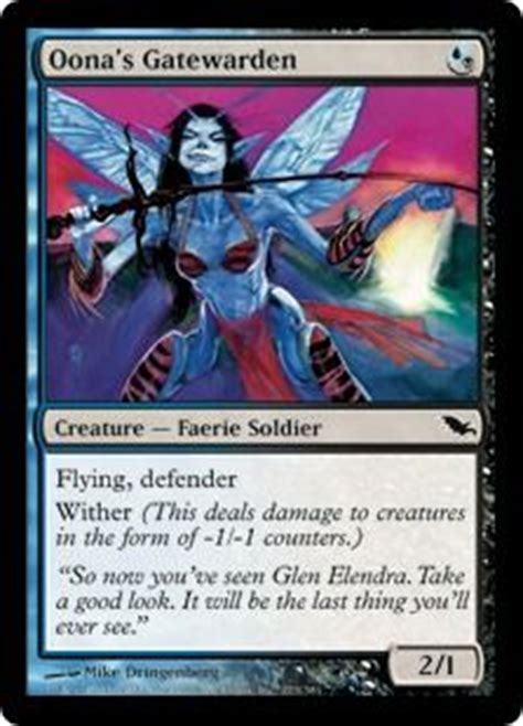 mtg faerie deck edh 1000 images about black and blue edh deck on
