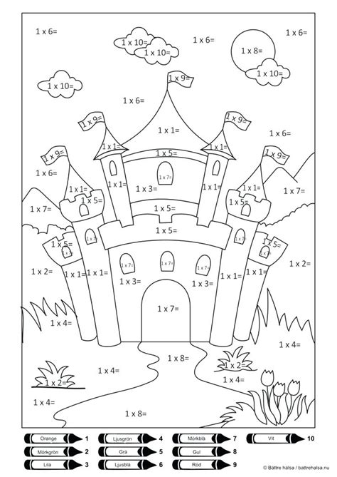 math facts coloring pages  getcoloringscom