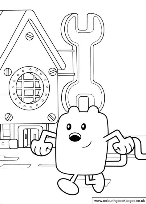 wow wow wubbzy colouring pages  preschoolers printing
