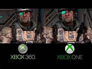 Halo Anniversary Xbox 360 VS Xbox ONE Comparativa