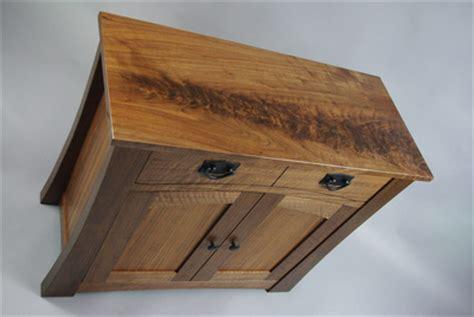 arts  crafts black walnut cabinets rugged cross fine