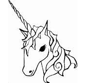 Unicorn Coloring Page & Book