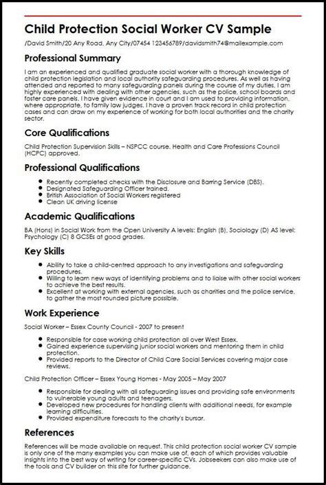 resume social ideas list of social work skills for your