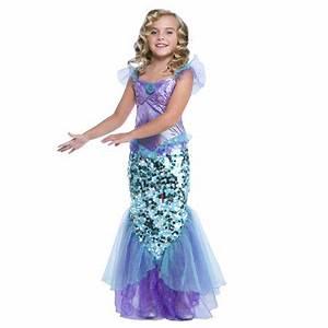 Girl Mermaid Halloween Costume - Walmart.com