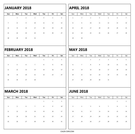 month  calendar printable  year  page templates