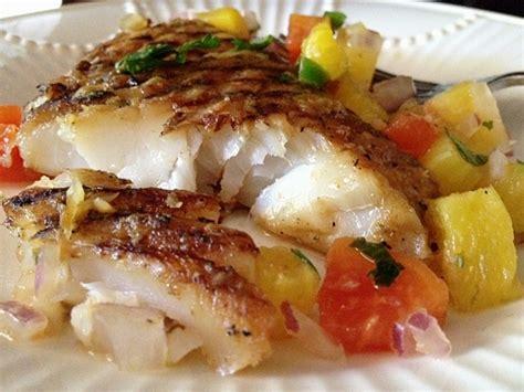 grouper grilled mango recipes recipe fish fresh salsa broiled pineapple parmesan chicken salad papaya beach iii panama fillets main dish