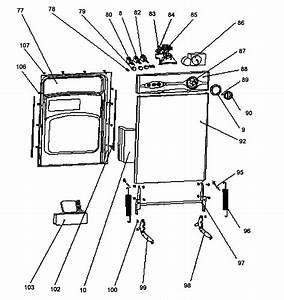 Danby Model Ddw1805w Dishwasher Genuine Parts