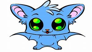 Little Cute Baby Bat Coloring Page - YouTube