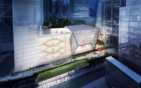 Culture Shed Hudson Yards by New York S Creative Gets A 300 Million Shed
