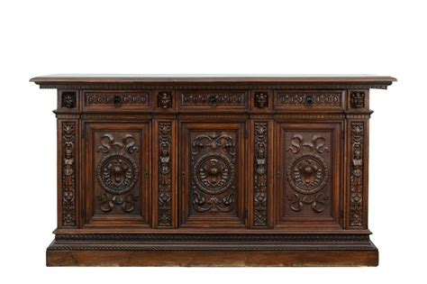 Italian Sideboards And Buffets by 800089 Large Antique Italian Carved Renaissance Buffet