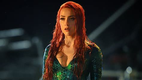 Amber Heard Shares Jaw Dropping First Look At Mera In Wet