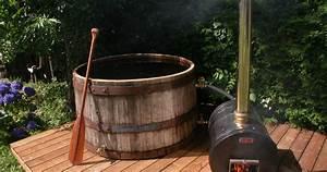 Chauffe Eau Bois : habitation autonome fabriquer un bain nordique hot tub ~ Premium-room.com Idées de Décoration