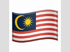 Flag Of Malaysia Emoji for Facebook, Email & SMS ID
