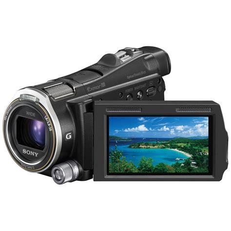 sony hdr cx700v camcorder hdr cx700v b h photo video