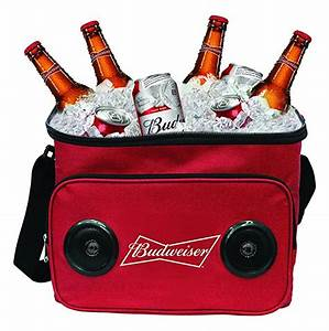 Bud Light Cooler With Speakers Budweiser Or Bud Light Soft Cooler Bag With Built In