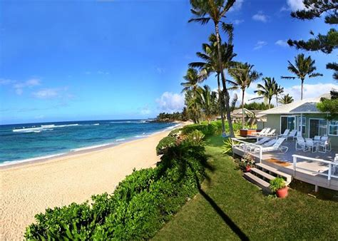 kitchen island with seating for 5 laniakea beachfront hawaii homes