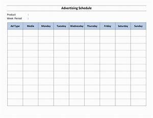 schedule word templates free word templates ms word With radio schedule template