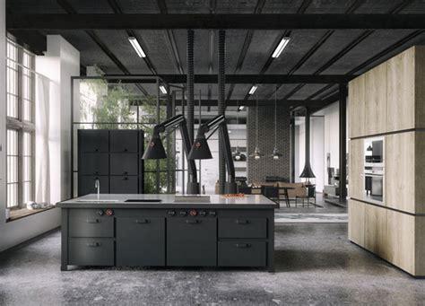 concrete kitchen design 11 easy industrial interior design style ideas Industrial