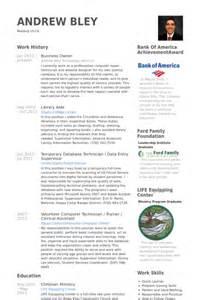 business owner experience resume business owner resume sles visualcv resume sles