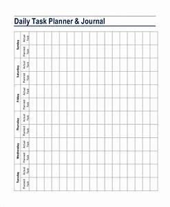 template for daily tasks - daily planner template 7 free pdf psd documents