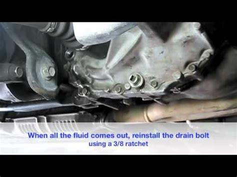 change  manual transmission fluid youtube