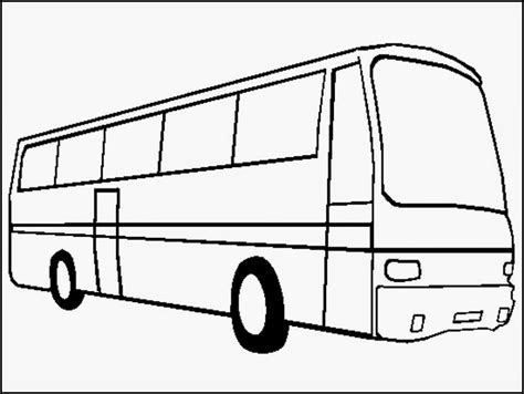 Bus Coloring Pages To Print Realistic