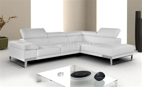 Nicoletti Leather Sofa Set by Nicoletti Leather Sectional Sofa By J M In White Grey Or