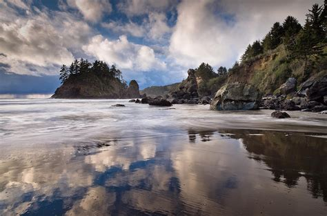 storm clearing  trinidad state beach photograph  greg