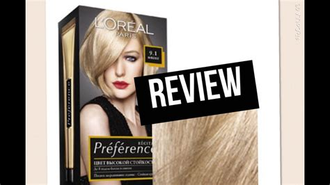 L'oreal Superior Preference 9.1 Viking Light Ash Blonde