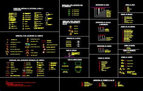 symbologies dwg block  autocad designs cad