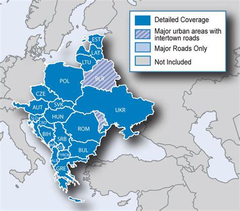 Carte Europe Centrale Garmin by Vorinstallierte Karten Garmin 214 Sterreich