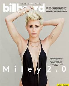 Miley Cyrus 'Billboard' Magazine Cover — Sexy In A ...
