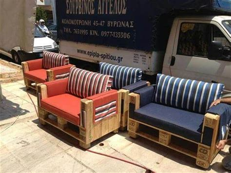 diy outdoor pallet sofa ideas diy  crafts