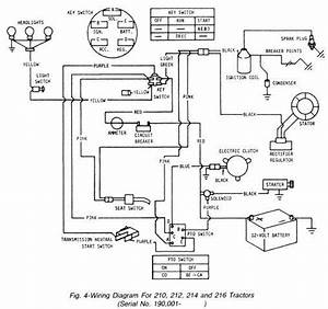 John Deere Lt160 Mower Start Side Wiring Diagram
