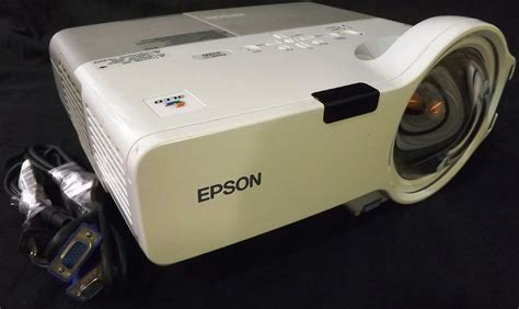 epson h330a 3lcd projector powerlite 410w 1280x800