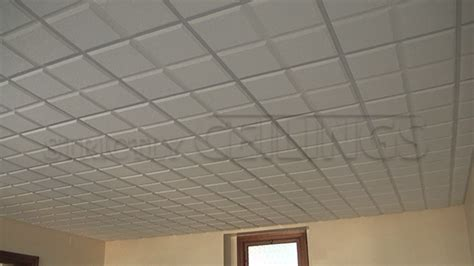 2x4 Acoustical Ceiling Tiles Home Depot by The Armstrong Cirrus Profiles Drop Ceiling Tile Is A