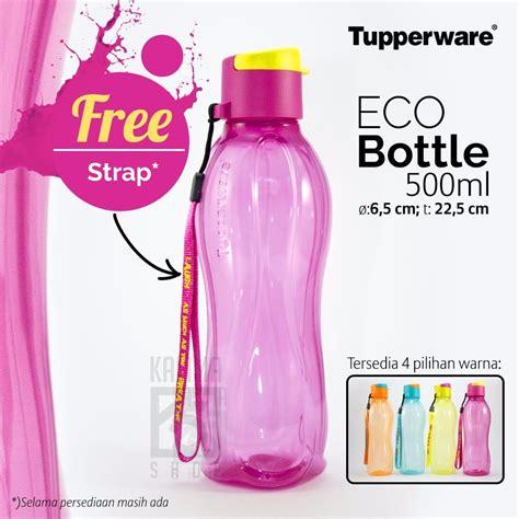 jual tupperware eco bottle ml strap  lapak lia