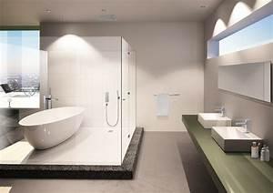 robinetterie pour salle de bain modele 160 steinberg With modele salle de bain moderne