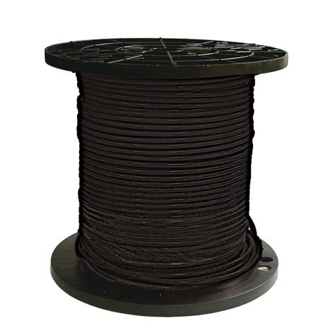southwire 500 ft 8 black stranded cu simpull thhn wire 20488312 the home depot