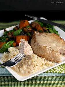Weekend Meal Planner Pork Chops With Easy Milk Gravy The Weary Chef