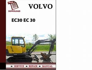 Volvo Excavator Parts Catalog Manual Ec30 Ec 30 Pdf