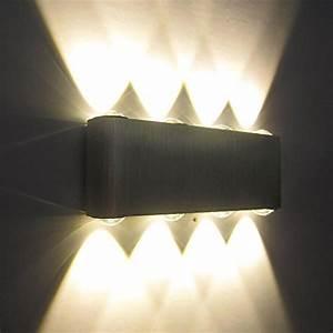 Wandleuchten Led Innen Modern : kaleep led 8w modern design wand wandleuchte wandlampe wandleuchten wandlampen flurlampe ~ Udekor.club Haus und Dekorationen